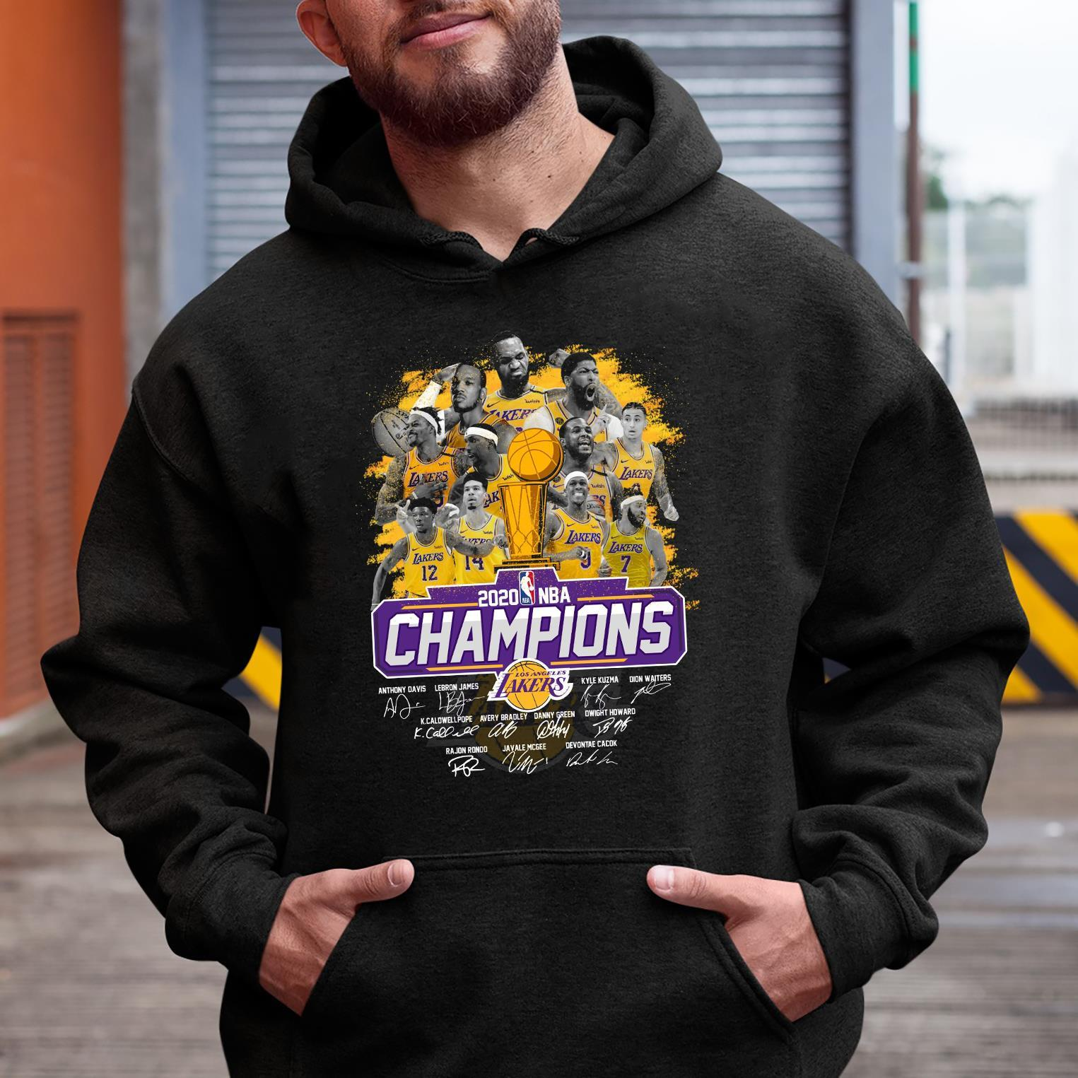 Los Angeles Lakers Is The Champions NBA 2020 Shirt hoodie
