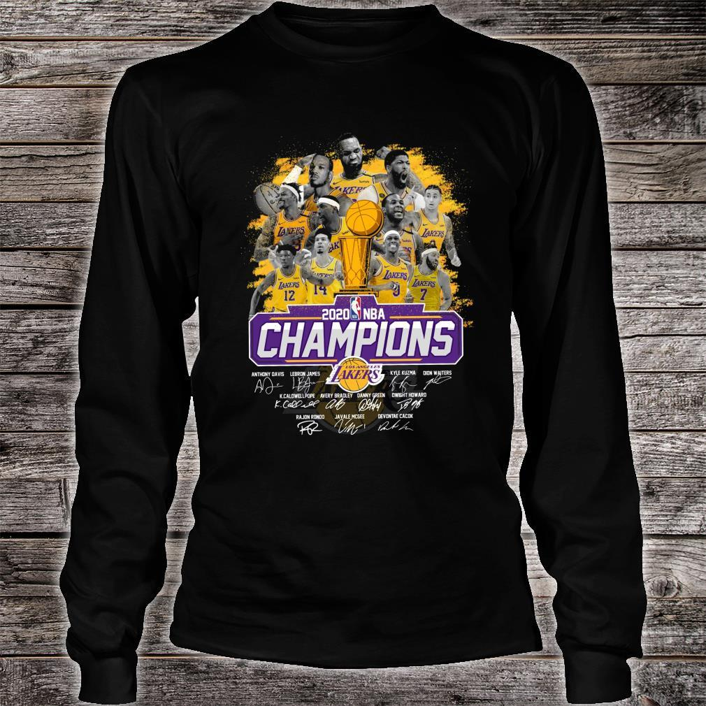Los Angeles Lakers Is The Champions NBA 2020 Shirt long sleeved