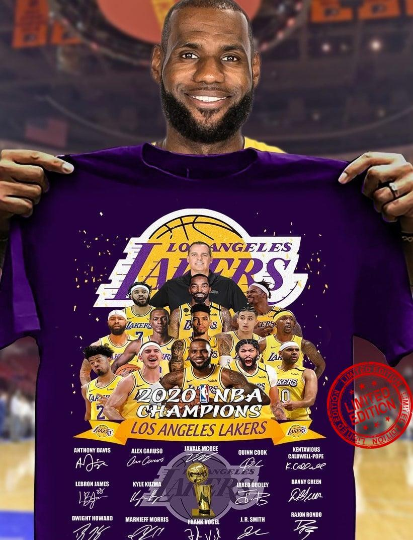 Los Angeles Lakers Is The Champions NBA 2020 Shirt
